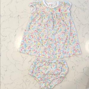 Ralph Lauren dress with diaper cover.